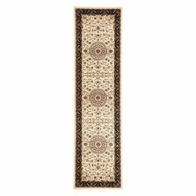 NEW Rug Culture Royal Medallion Border Runner Rug in Multi-Coloured