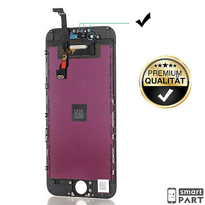 iPHONE 6 DISPLAY SCHWARZ RETINA LCD FRONT GLAS BILD EINHEIT TOUCH SCREEN EKRAN