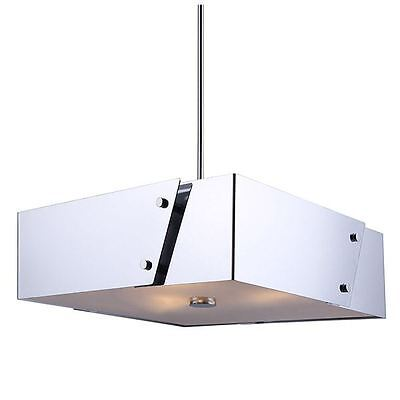 Canarm 3 light Chandelier withFrosted Glass Diffuser - Chrome Finish • CAD $535.76