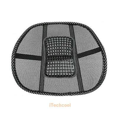 Car/Seat/Chair Cool Vent Mesh Lower Back Lumbar Ventilable Cushion Support Pad