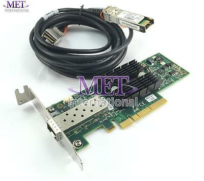 Lot Of 2 671798-001 Hp 10Gb Connectx2 Pci Ethernet Card Low Profile W/ Cable