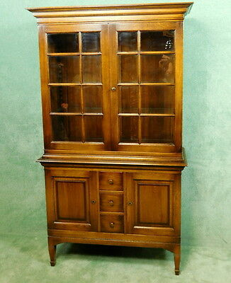 Classic Charm Oak Display Cabinet - Bookcase