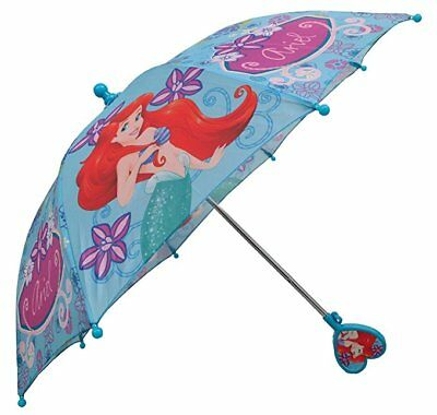 Disney Girls Ariel The Little Mermaid Umbrella - with 3D handle
