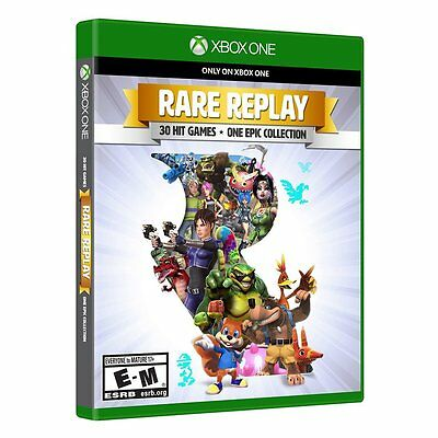 Rare Replay [Xbox One XB1, 30 Retro Hit Video Games + One Epic Collection] NEW