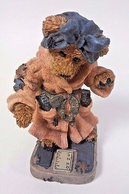 Vintage 1997 The Boyds Collection Bears & Friends Ms. Griz....Saturday Night NEW