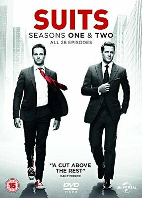Suits - Season 1-2 [DVD] [2011] - DVD  7WVG The Cheap Fast Free Post