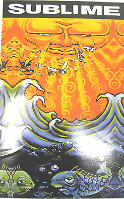 Sublime Everything Under the Sun promo window cling / poster NEW Sun and Fish