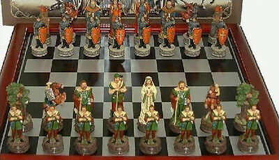 *NEW IN BOX* Veronese ROBIN HOOD Cast Resin Chess Pieces - Board NOT Included