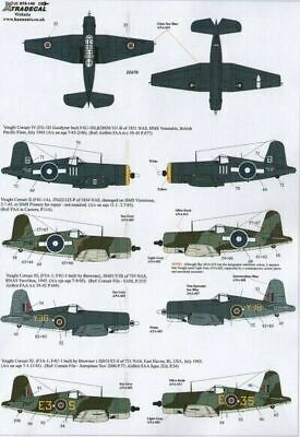 Xtradecal X72142 1/72 Yanks with Roundels Part 3 FAA Model Decals