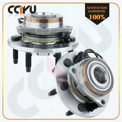 Pair Of 2 Front Wheel Hub & Bearing Assembly for Chevy GMC Cadillac AWD 4WD 4x4