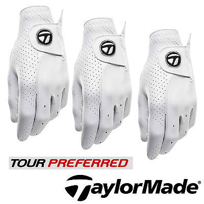 Taylormade Tour Preferred Aaa Cabretta Leather Soft Tech Golf Glove New 2017