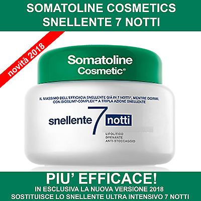 SOMATOLINE COSMETIC SNELLENTE ULTRA INTENSIVO 7 NOTTI 400ml SPED 24H OUTLET