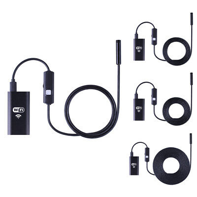 6LED HD 720P Wifi Endoscope Waterproof Inspection Camera for iPhone Android PC