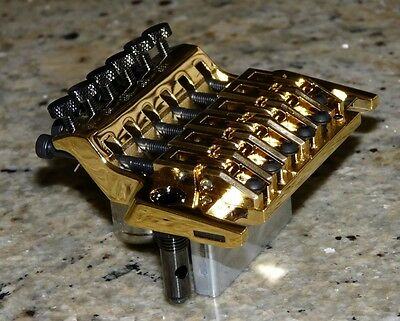 Ibanez Original EDGE Trem Tremolo New in GOLD fits Steve Vai JEM, 7V, JS, RG, S