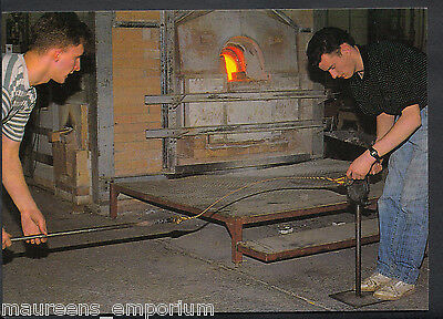 Scotland Postcard - Crieff Visitor Centre - Making The Twisted Canes  MB2368