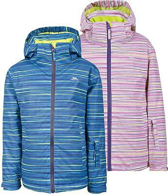 3eb9ffe0d7 Trespass Mugsy Kids Ski Jacket Waterproof Insulated Girls Boys Coat
