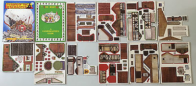 Games Workshop Warhammer Terror Of The Lichemaster The Riding Card Buildings Set