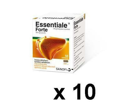 10 x Essentiale forte 50 capsules.Free shipping!!!