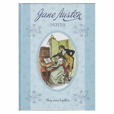 A4 Jane Austen Large Notebook Pride & Prejudice Notes Vintage Literature Journal