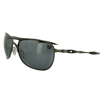 fe4b0486df OAKLEY SUNGLASSES TI Crosshair Pewter Black Iridium Polarized OO6014 ...