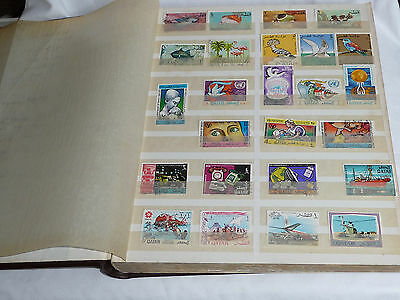 Fantastic Middle East Stamp Collection Lebanon, Jordan, Qatar, Egypt, Iraq NIce!