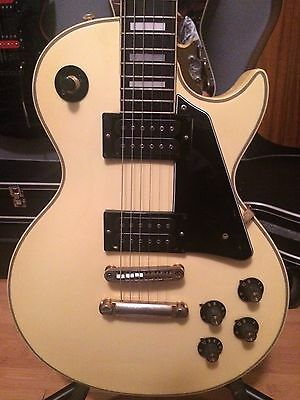 Very Rare Vintage Lincoln Les Paul Type Electric Guitar Made in Japan 1970's!!!