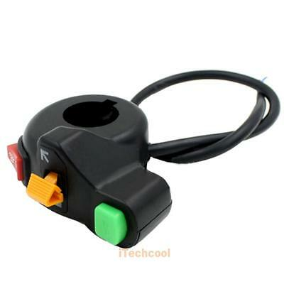 Universal Handlebar Motorcycle Switch ATV Bike Horn Signals Light On/Off B #T1K