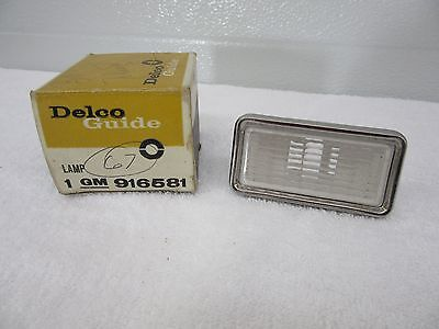 NOS 1968 Chevrolet Corvette Front Clear Side Marker Lamp Light Bezel GM916581 dp