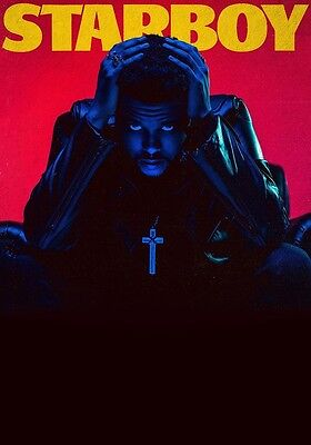 THE WEEKND Starboy PHOTO Print POSTER New Album Daft Punk AbelTesfaye Beauty 12