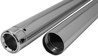 Dew Mfg 39mm Show Chrome Fork Tubes - T1346