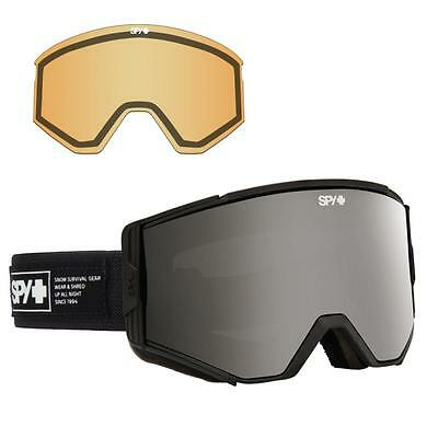 Spy Ace Goggles Nocturnal Gray w/ Black Mirror + Persimmon