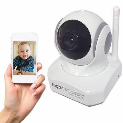 Night Vision Wireless Video Camera Wifi Baby Monitor for Smartphones iOS Android