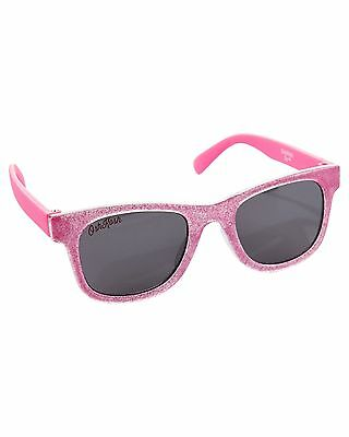 New OshKosh Baby 1 2 Year Old Sunglasses Size 0-24m  NWT Pink Glitter Sparkle