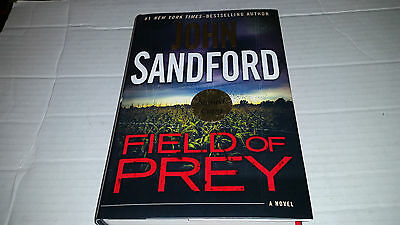 Field of Prey by John Sandford (2014, Hardcover) SIGNED 1st/1st