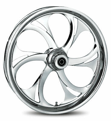 """RC Components Chrome Recoil 21"""" Front Wheel & Tire Harley 00-06 FL Softail"""