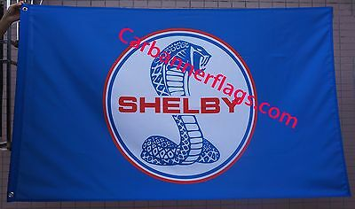 Ford shelby flag ford shelby car banner flags 3X5 Ft -blue- free ship