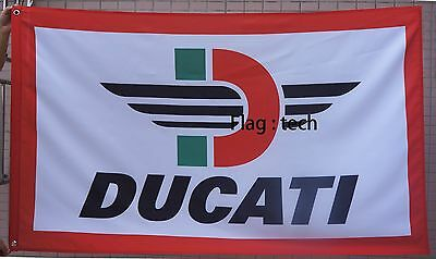 Ducati flag Ducati Motorcycle banner 3X5 ducati Motorcycle flags - free shipping