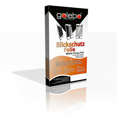 Golebo Screen Film for Privacy protection black for Blackmagic Audio Monitor