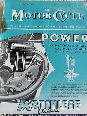 The Motorcycle Magazine Nov 1951 Satisfying The Markets Future Of Classic Trial