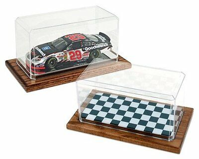 1-24 Scale Model Checkered Display Case