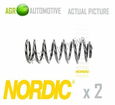 2 x NORDIC REAR COIL SPRING PAIR SPRINGS OE QUALITY REPLACE CS472016