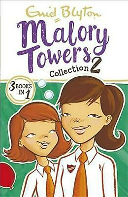 Malory Towers Collection 2: Books 4-6 by Enid Blyton Paperback Book Free Shippin