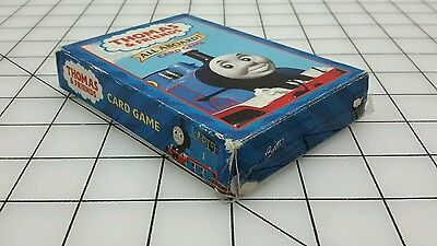 Thomas & Friends All Aboard! Card Game Briarpatch 2001 Children's Travel ASD