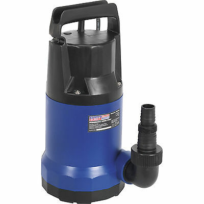 Sealey Submersible Clean Water Pump no Float Switch 9mLift 14000 l/hr 750w 240v