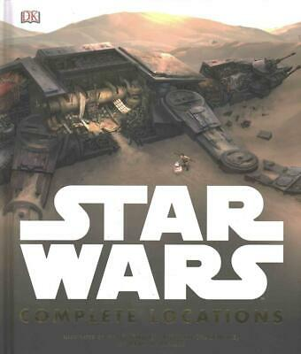 Star Wars Complete Locations by Dk Hardcover Book Free Shipping!