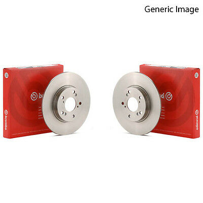 Brembo Rear Brake Discs Pair Genuine OE Quality Service Part