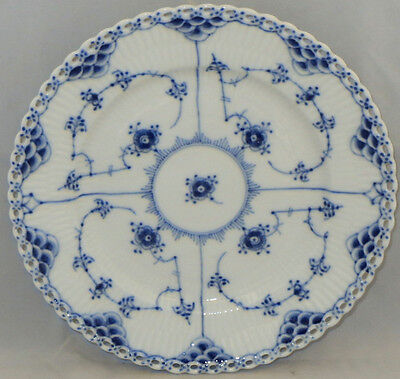 Royal Copenhagen Blue Fluted-Full Lace Salad Plate