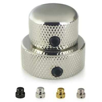 Dual Concentric Control Knob For Electric and Bass Guitars