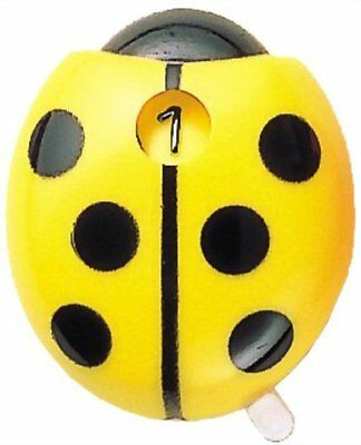 New Tabata Score Counter - Ladybug, Yellow, Made in Japan, GV0900 Y