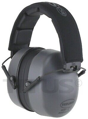 HIghest Nrr SHOOTING EAR MUFFS RANGE NOISE REDUCTION HEARING PROTECTION & CASE